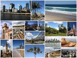 Australia photo collage