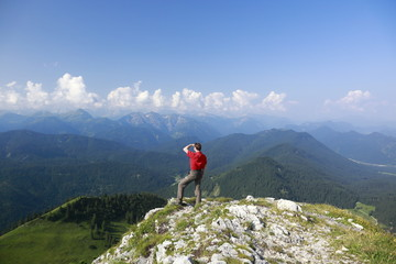 Alpen Rundblick