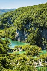 National park Plitvice lakes, Croatia, Dalmatia