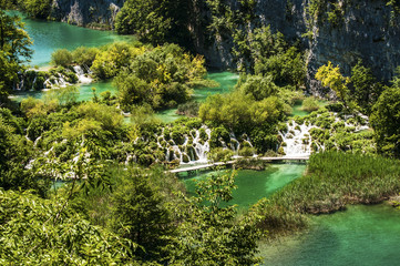 National park Plitvice lakes, Croatia, Dalmatia