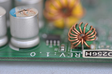 burned graphics card