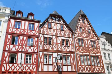 Fachwerkhäuser in Trier