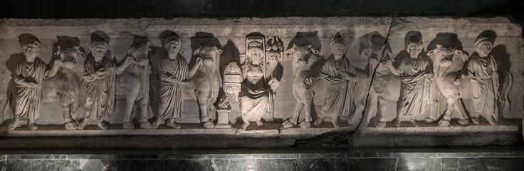 minyatür kabartma heykel