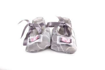 Baby shoes isolated