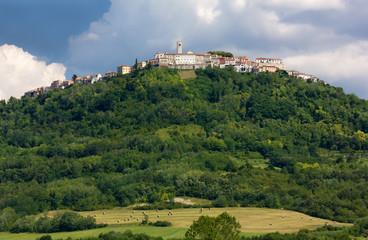 Village of Motovun in Istria