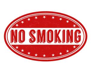 No smoking stamp