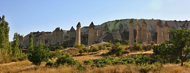 Cappadocia, Stone columns in Gorcelid Valley