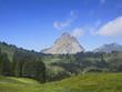 canvas print picture - Mythen, Berg in der Schweiz