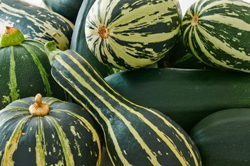 Assorted zucchini