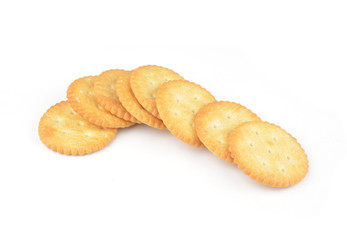 Cracker Isolated on White with Clipping Path