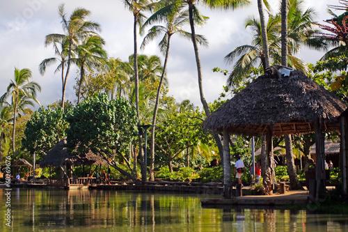 Leinwandbild Motiv Polynesia culture..