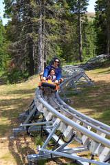 Summer bobsleigh
