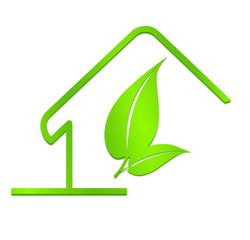 maison écologique verte de la maison