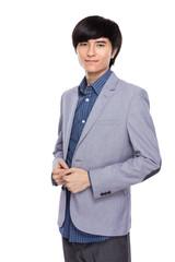 Asian businessman portrait