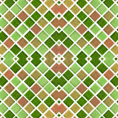Mosaic tiles colorful ceramic pattern background