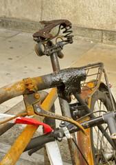 Burnt bicycle