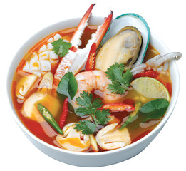 Thai Food Tom Yum Sea Food