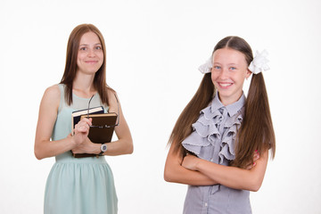 Portrait of a better student and teacher