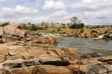 Parco naturale dello Tsavo in Kenya