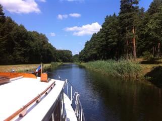 Urlaub auf dem Boot