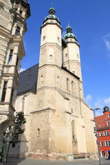 Kirche in Halle Saale