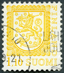 FINLAND - 1979: shows coat of arms