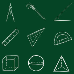 Vector Geometry Icons