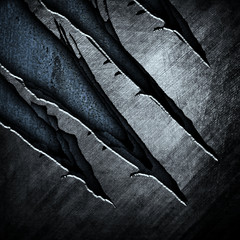 abstract cracked metal