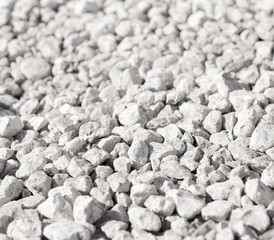 Crushed, abstract background