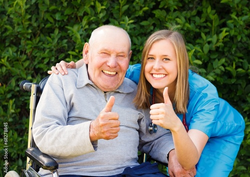 Great Mood at the Nursing Home - 68278845
