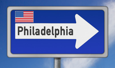 Amerikanische Metropole Philadelphia