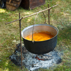 Cauldron cooking