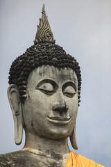 Ayutthaya Wat Yai Chai Mongkol Ancient Buddha