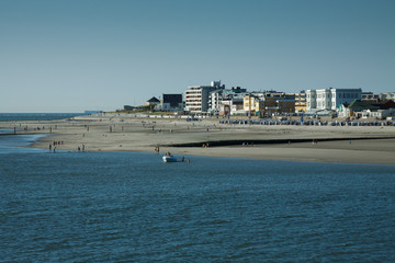 Insel Norderney in Ostfriesland