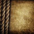 old paper with rope