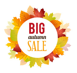 Autumn Sales Background