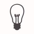 Vector Illustration of a Light Bulb