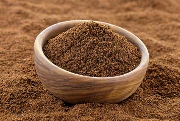 Kawa mielona w misce