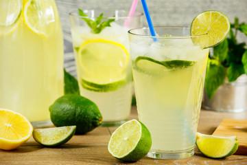 Fresh lemonade drink