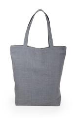 Gray linen bag