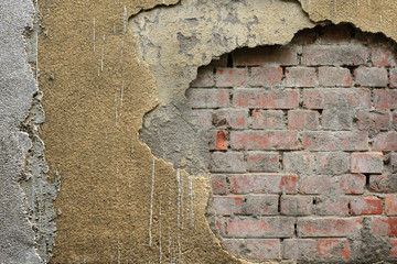 aged brick background