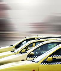 Taxis in Bewegung