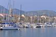 Port of Sanary-sur-Mer in France