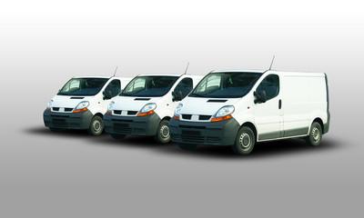 Drei Transporter