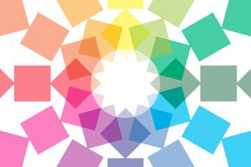 背景素材壁紙 (カラフル,虹色,レインボー,七色,PR,コマーシャル,広告,宣伝,チラシ,販促,販売,文字入)