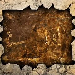 broken marble stone
