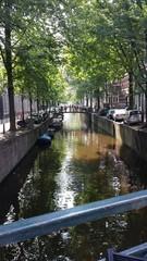 Schöner Kanal in Amsterdam