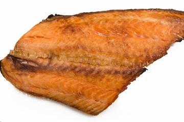 焼き鮭 サケ salmon 白背景