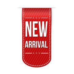 New arrival banner design