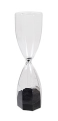 Large Hour Glass with Black Sand